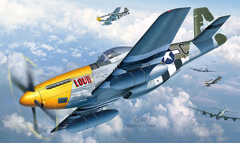 Revell Germany Aircraft 1/32 P-51D-5NA Mustang Kit