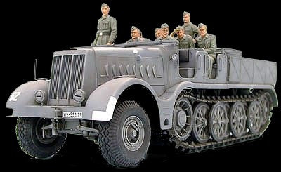 Tamiya Military 1/35 German 18T Heavy Halftrack Kit