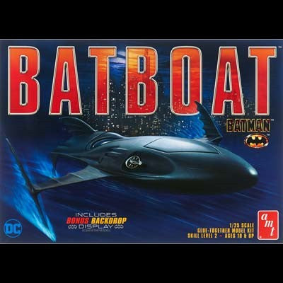 AMT Sci-Fi Models 1/25 Batman Returns: Batboat Kit