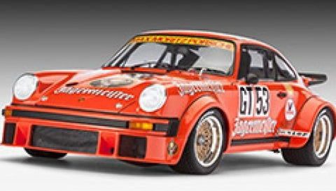 Revell Germany Cars 1/24 Porsche 934 RSR Jagermeister Race Car Kit
