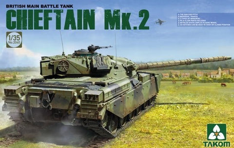Takom Military 1/35 British Main Battle Tank Chieftain Mk. 2 Kit