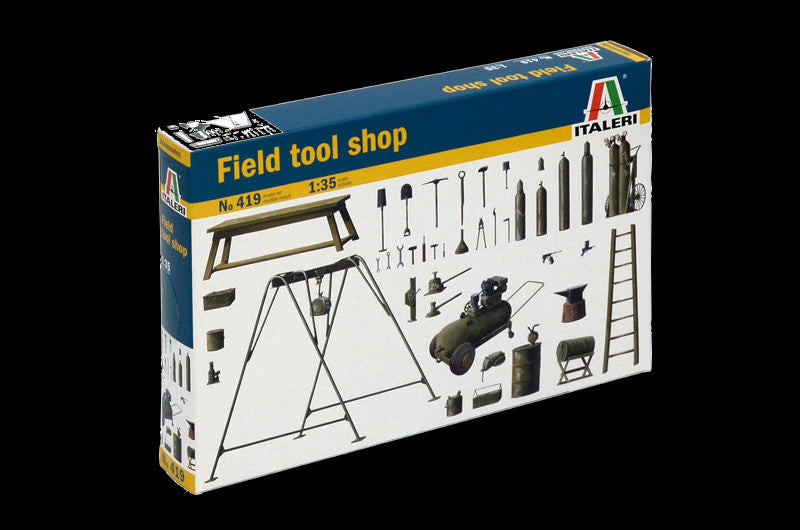Italeri Military 1/35 Field Tool Shop Kit