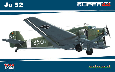 Eduard Aircraft 1/144 Ju52 Fighter Ltd. Edition Kit