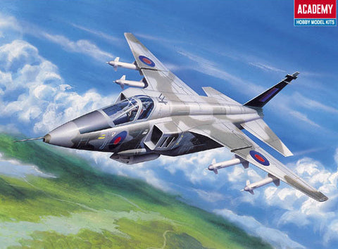 Academy Aircraft 1/144 Sepecat Jaguar RAF Fighter Kit
