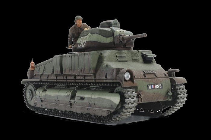 Tamiya Military 1/35 French Somua S35 Medium Tank Kit