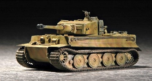Trumpeter Military Models 1/72 German Tiger I Tank Late Production Kit