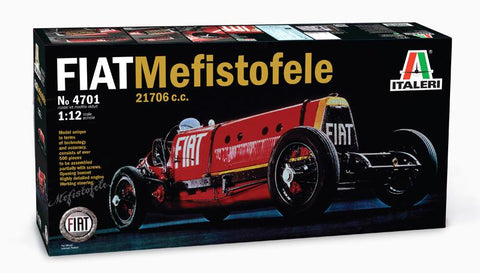 Italeri Model Cars 1/12 Fiat Mefistofele 21706cc Race Car Kit