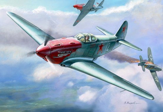 Zvezda Aircraft 1/48 Soviet Yak3 Fighter Kit