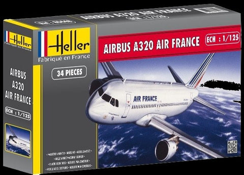 Heller Aircraft 1/125 Airbus A320 Air France Airliner Kit