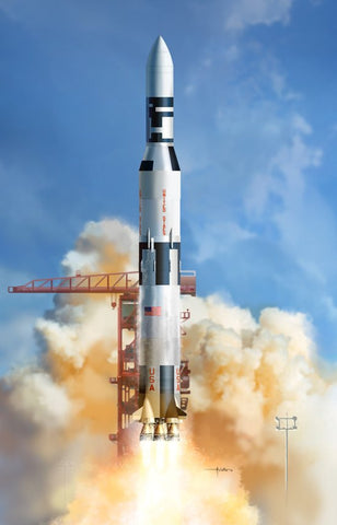 Dragon Space 1/72 NASA Saturn V Rocket w/Skylab Kit
