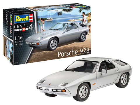 Revell Germany Model Cars 1/16 Porsche 928 Sports Car Kit