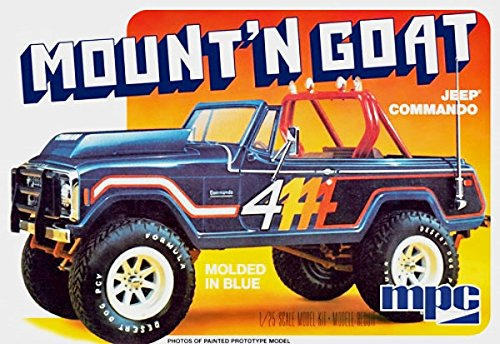 MPC Model Cars 1/25 Mount 'N Goat Jeep Commando Kit