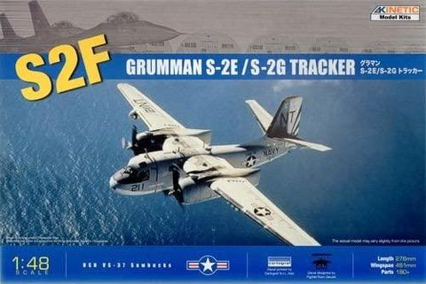 Kinetic Aircraft 1/48 S-2F Tracker Kit