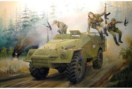 Trumpeter Military Models 1/35 Russian BTR40 Armored Personnel Carrier Kit
