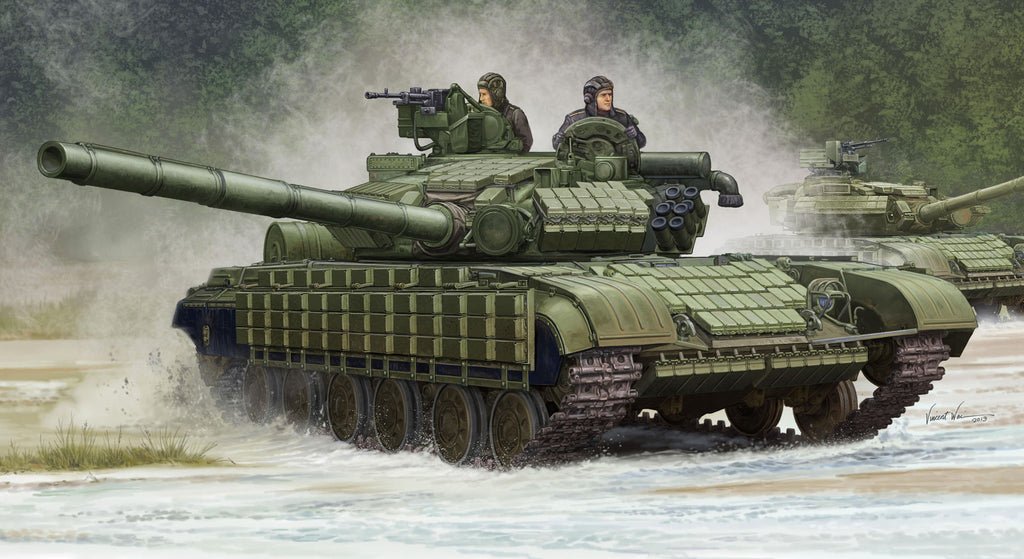 Trumpeter Military Models 1/35 Soviet T64BV Mod 1985 Main Battle Tank Kit