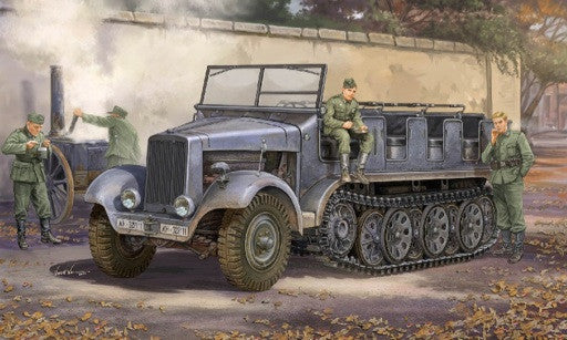 Trumpeter Military Models 1/35 German SdKfz 6 Type BN9 5-Ton Halftrack, Pioneer Version Kit
