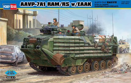 Hobby Boss Military 1/35 AAVP-7A1 RAM/RS W/eaak Kit
