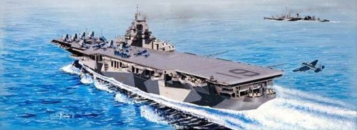 Trumpeter Ship Models 1/350 USS Hancock CV19 Aircraft Carrier Kit