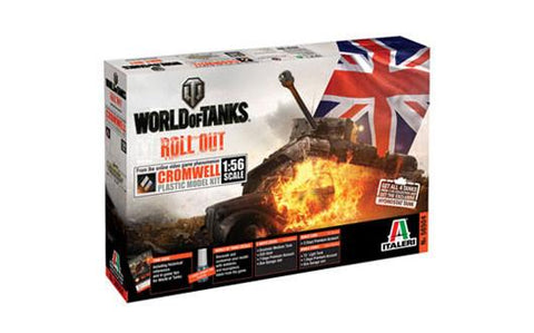 Italeri Wargame World of Tanks 1/56 Cromwell Kit