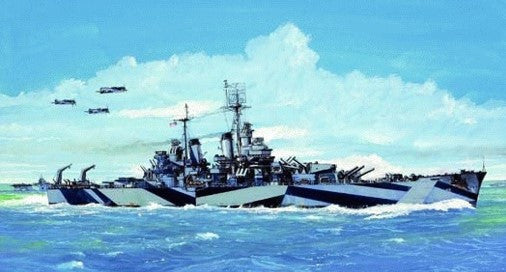 Trumpeter Ship Models 1/700 USS Baltimore CA68 Heavy Cruiser 1944 Kit