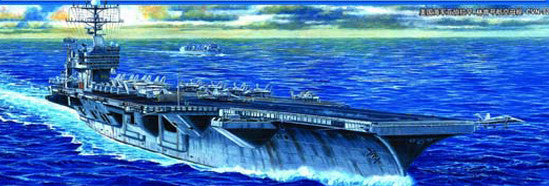 Trumpeter Ship Models 1/700 USS Abraham Lincoln CVN72 Aircraft Carrier Kit