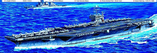 Trumpeter Ship Models 1/700 USS John C Stennis CVN74 Aircraft Carrier Kit