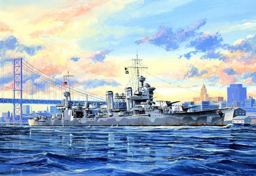 Trumpeter Ship Models 1/700 USS Quincy CA39 New Orleans Class Heavy Cruiser Kit