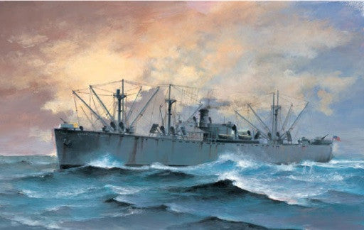 Trumpeter Ship Models 1/700 SS Jeremiah OBrien WWII Liberty Ship Kit