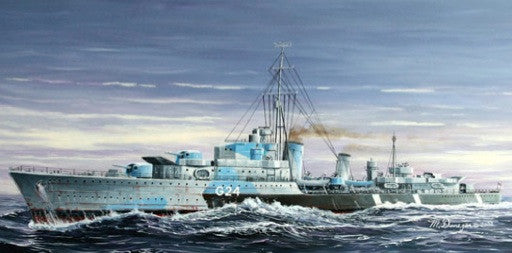 Trumpeter Ship Models 1/700 HMCS Huron G24 Canadian Tribal Class Destroyer 1944 Kit