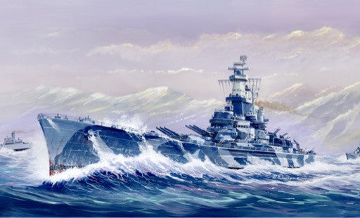 Trumpeter Ship Models 1/700 USS Alabama BB60 Battleship Kit