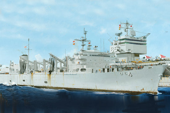 Trumpeter Ship Models 1/700 USS Detroit AOE4 Sacramento Class Fast Combat Support Ship Kit