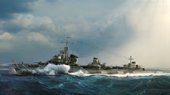 Trumpeter Ship Models 1/700 German Zerstorer Z37 Destroyer 1943 Kit