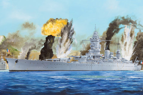 Hobby Boss Model Ships 1/350 French Navy Dunkerque Battleship Kit