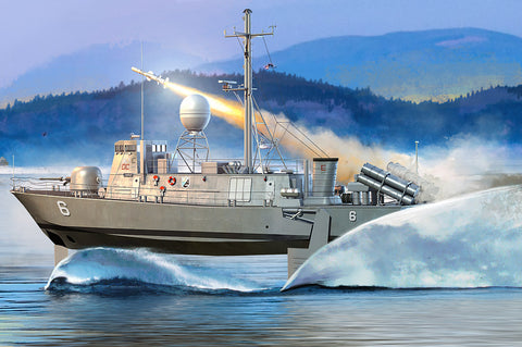 Hobby Boss Model Ships 1/200 USS PHM Pegasus Class Kit