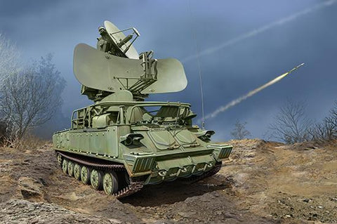 Trumpeter Military 1/35 Russian 1S91 SURN 2K12 Kub Surface-to-Air Missile System (New Tool) Kit