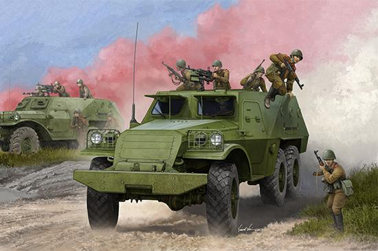 Trumpeter Military 1/35 Soviet BTR152B1 Armored Personnel Carrier (New Tool) Kit