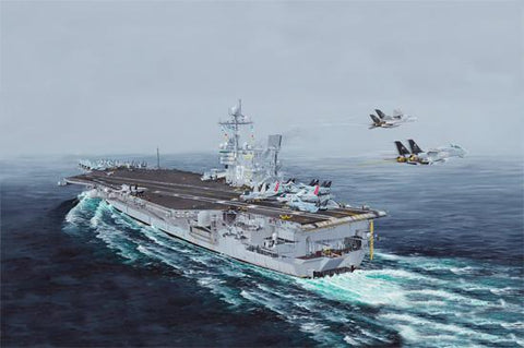 I Love Kit Ships 1/350 US Navy Aircraft Carrier USS John F. Kennedy CV-67
