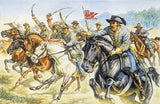 Italeri Military 1/72 American Civil War: Confederate Cavalry (17 Mounted Figures) Set