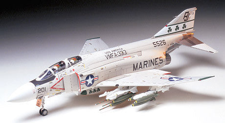 Tamiya Aircraft 1/32 F4J Phantom II Marines Aircraft Kit
