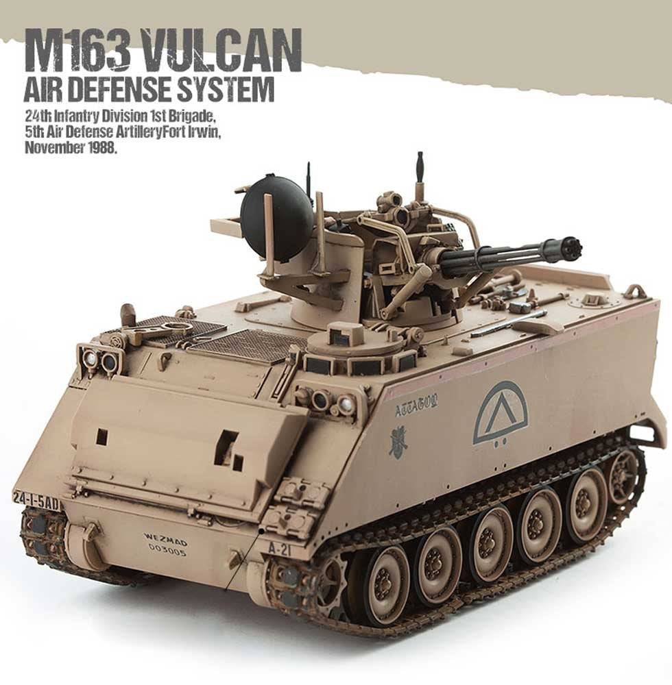 Academy Military 1/35 US Army M163 Vulcan Kit