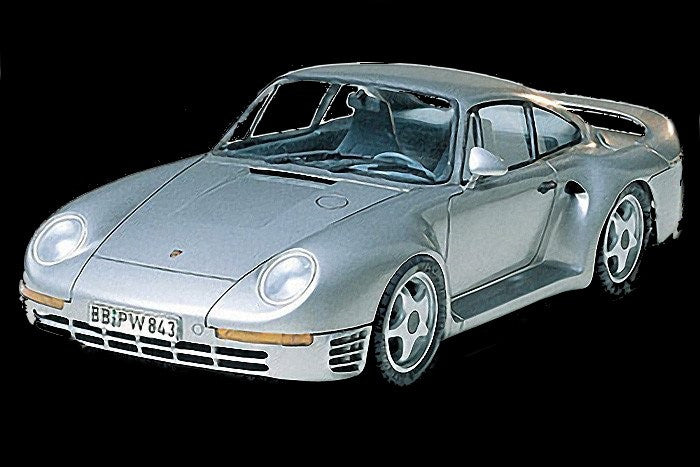 Tamiya Model Cars 	1/24 Porsche 959 Car Kit