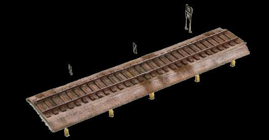 Italeri Military 1/72 Rail Tracks Kit