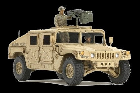 Tamiya Military 1/48 US Modern 4x4 Utility Vehicle w/Grenade Launcher Kit