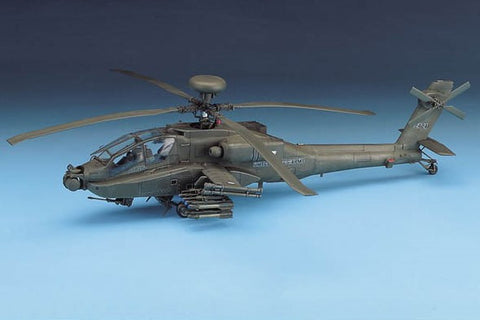 Academy Aircraft 1/48 AH64D US Helicopter Kit