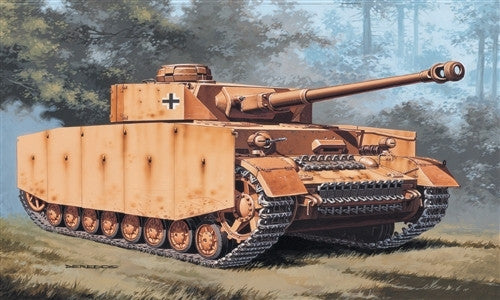 Italeri Military 1/72 PzKpfw IV German Tank Kit