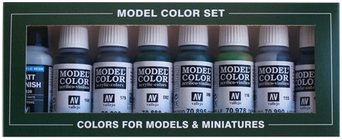 Vallejo Acrylic 17ml  Bottle Demag 7 Africa Corps Model Color Paint Set (8 Colors)