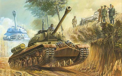 Roden Military 1/72 IS3 Stalin Soviet Tank 1944 Kit