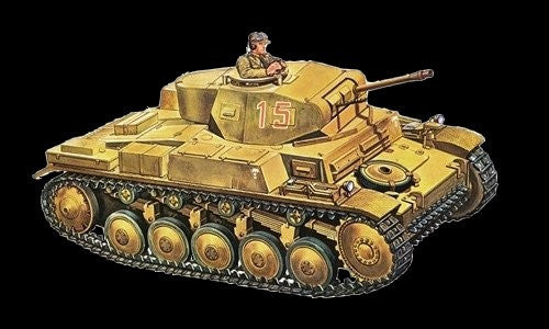 Italeri Military 1/72 PzKpfw II Ausf F Light Tank Kit