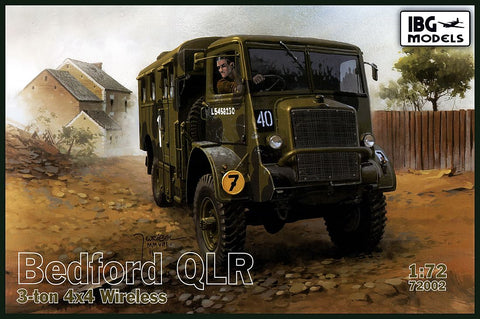 IBG Models Clearance Sale 1/72 Bedford QLR 3ton 4x4 Kit