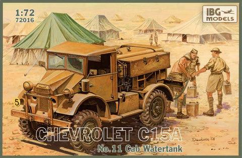 IBG Models Clearance Sale 1/72 Chevrolet C 15A Watertank Kit